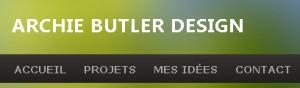 Archie Butler Web design