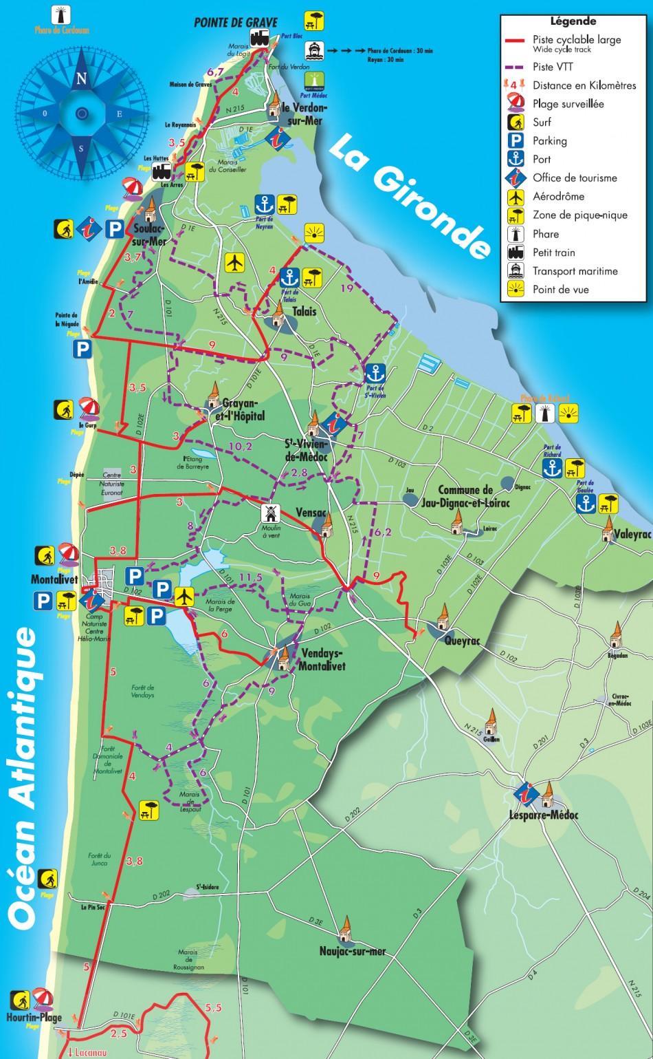 plan-des-pistes-cyclables-du-Medoc